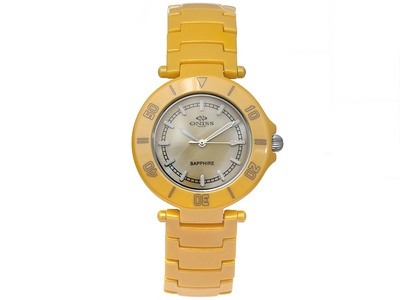 Ladies Mother Of #Pearl yellow #watch from Jewelry Television