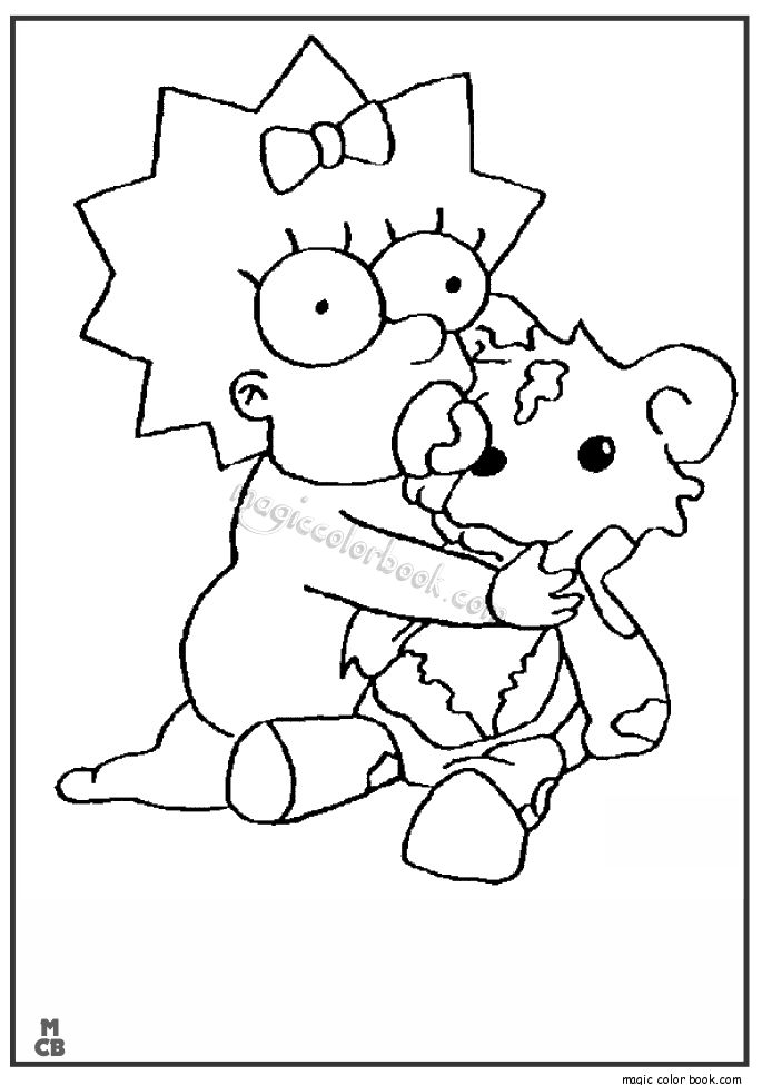 28 best simpsons coloring pages free online images on pinterest the simpsons coloring and coloring book