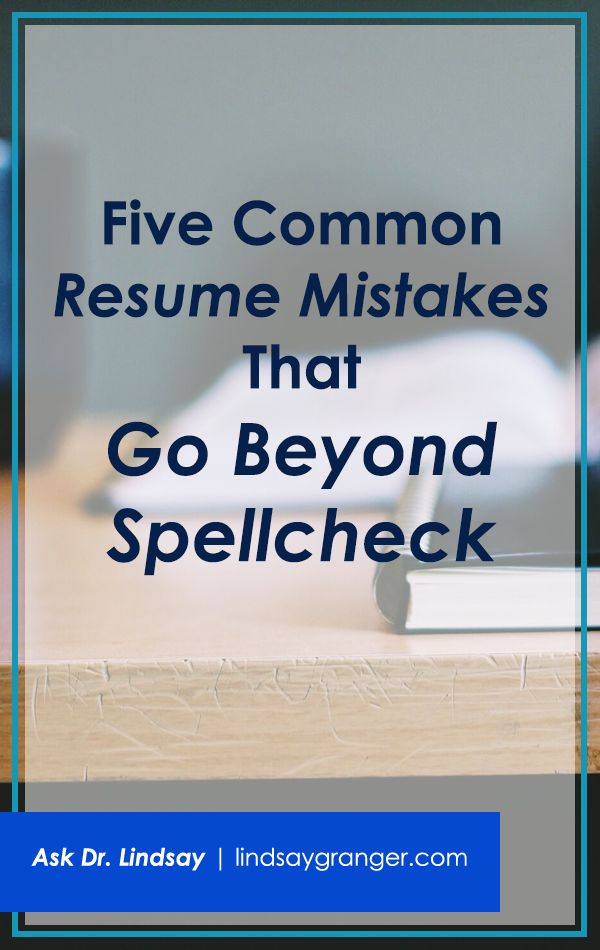428 best job search tips images on Pinterest Interview, Personal - common resume mistakes