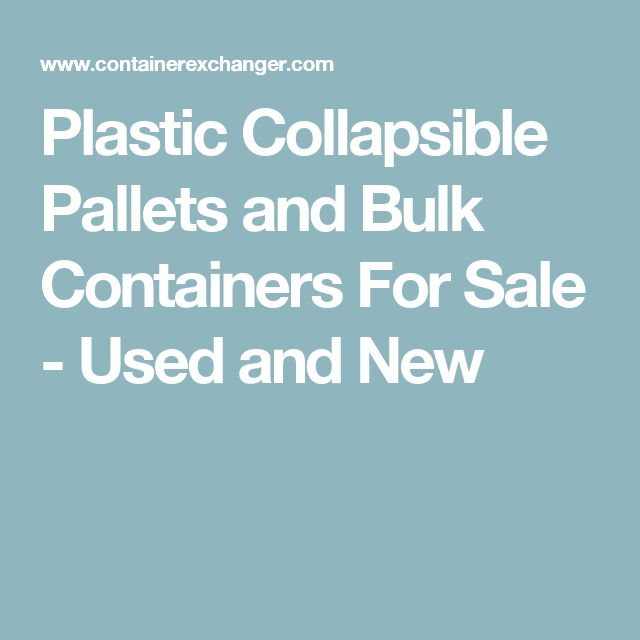 Wholesale Pallet For Sale: 25+ Best Plastic Pallets For Sale Ideas On Pinterest