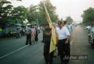 measurement & public expo Alun-alun Kajen, Pekalongan Regency , 16 September 2005