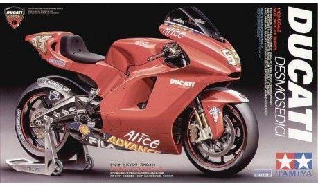 Tamiya - 14101 - Maquette de motos / model motorcycles - Ducati Desmosedici - 1/12