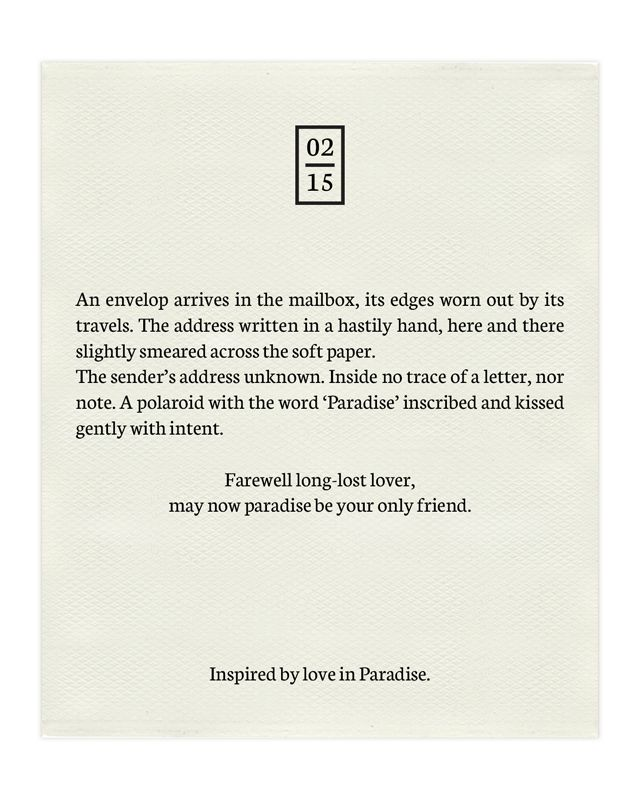 Inspiration || Paradise Love