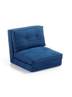 LaForma Slaapstoel 'Zip', jeans-blauw #denim #jeans