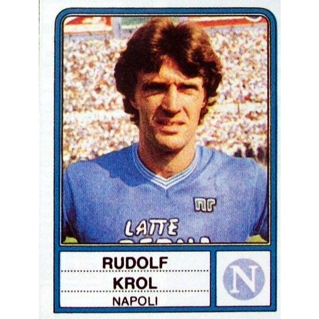 Rudolf #Krol #Napoli 1983/84