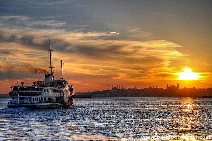 An Istanbul sunset - no words needed