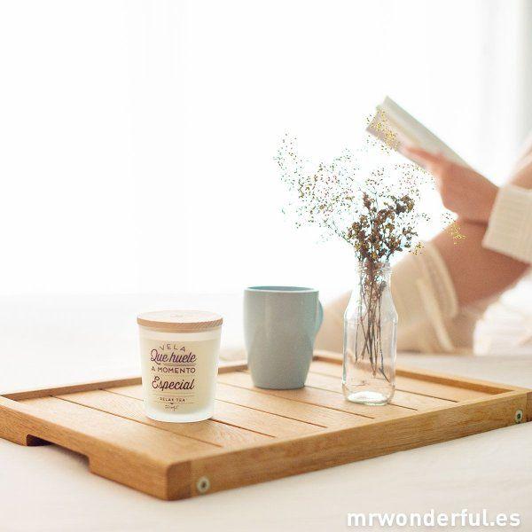 Una vela de Mr Wonderful (que huele hasta tapada) y una taza de té, café o leche con cacao humeante   Mr. wonderful (@mrwonderful_)   Twitter