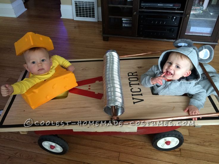 Cutest Infant and Toddler Mouse Trap Costume... Coolest Halloween Costume Contest