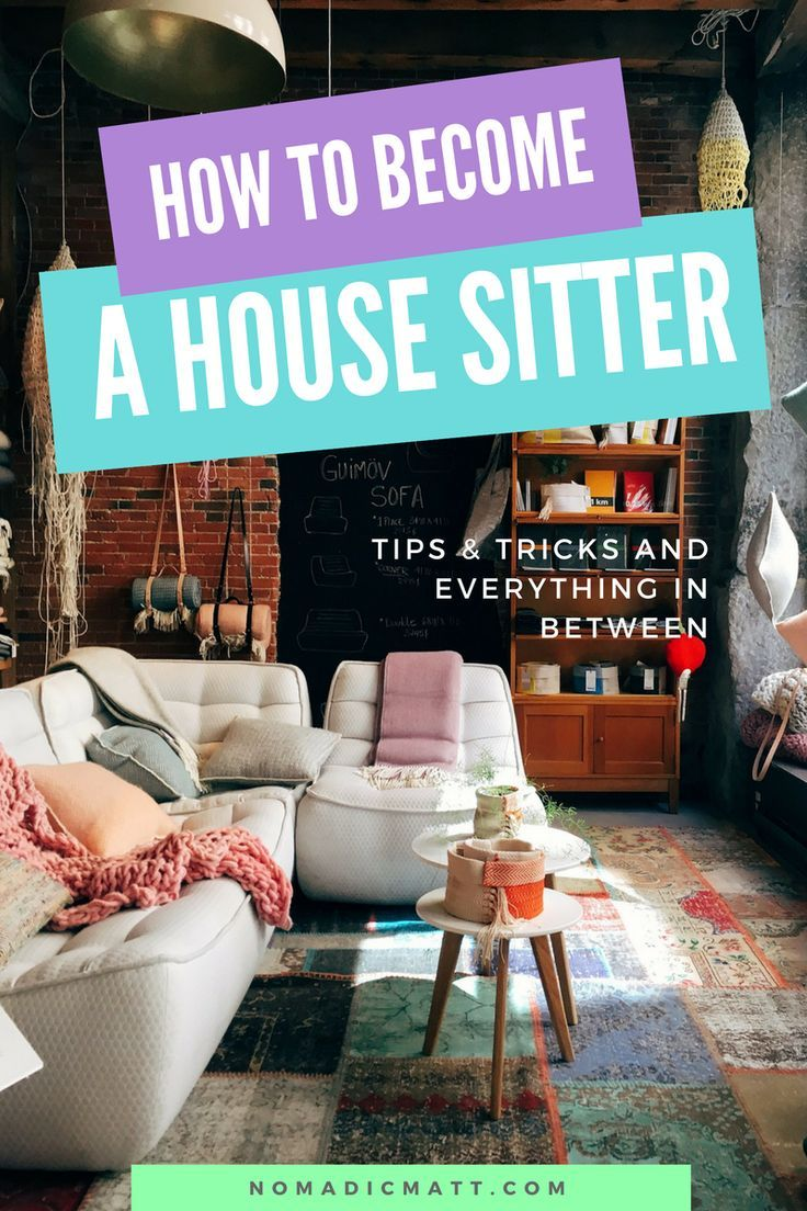How to Become a House Sitter and Get House Sitting Jobs in