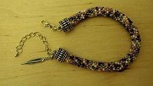 Ręcznie wykonana bransoletka z koralików toho. Handmade bracelet of Toho beads.