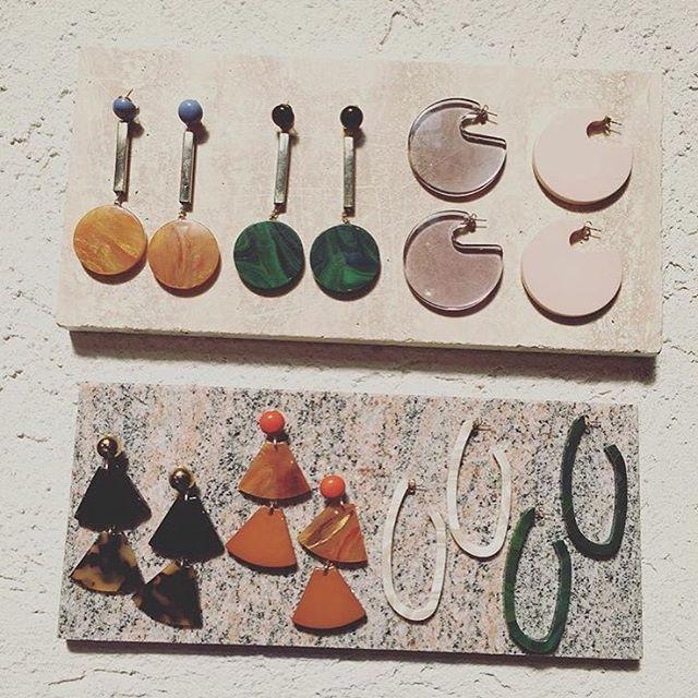 Rachel Comey earrings SS17 〰➰ @rachelcomey #earringobsession #ss17 #preview