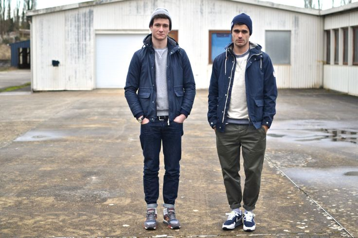 Boras : Norse Projects beanie, Aros Heavy chinos & Nunk jacket - Shutter…