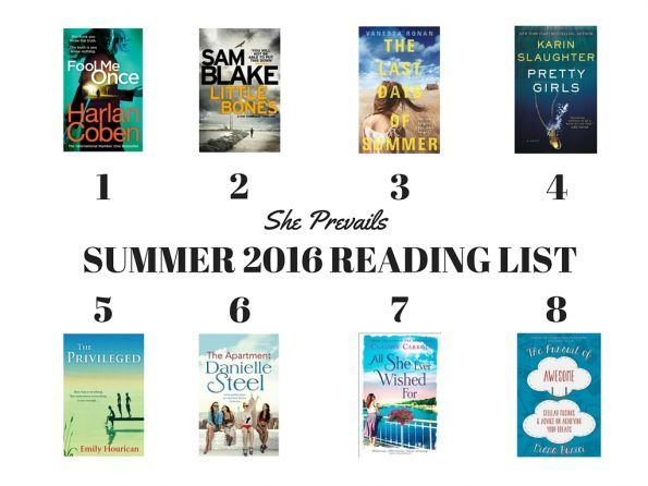 Your Summer 2016 reading list - She Prevails