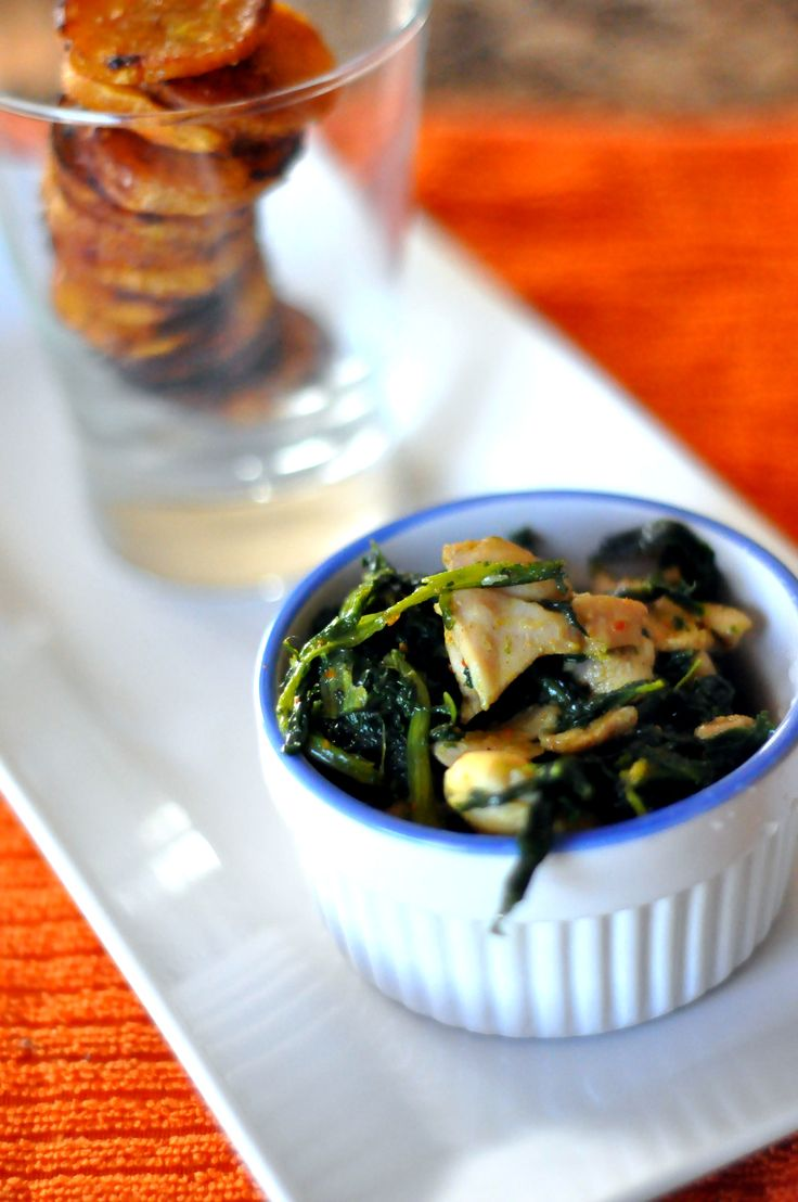African chicken and spinach recipes