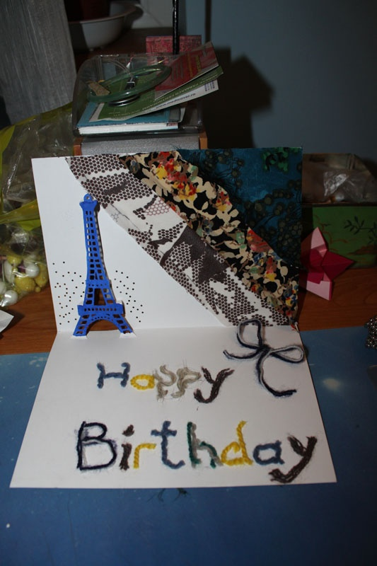complete birthday card