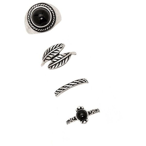 Forever 21 Etched Midi Ring Set ($6.90) ❤ liked on Polyvore featuring jewelry, rings, etched ring, midi rings, forever 21, mid finger rings and midi rings jewelry