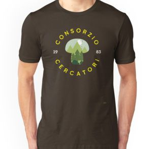 "@redbubble ""Consorzio Cercatori"" is a free association of people walk in the woods  looking for mushrooms from 1983 but they like also berries #t-shirts #woods, #wildlife, #outdoor #mushroom #printed #1983 #keeper #stranger #forest #lorien #backintheday #vintage #cool #funghi #bosco"