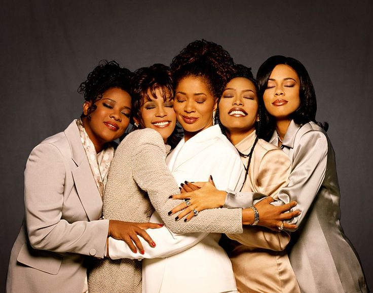"beautifulblackwomenofthenet: "" HERStory Matters: On December 22, 1995, the star-studded film adaptation of Terry McMillan's book, ""Waiting to Exhale,"" hit the theaters. Featuring the late Whitney Houston, Angela Bassett, Loretta Devine and Lela..."