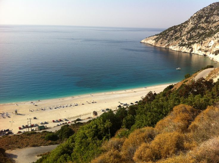 Παραλία Μύρτου (Myrtos Beach)