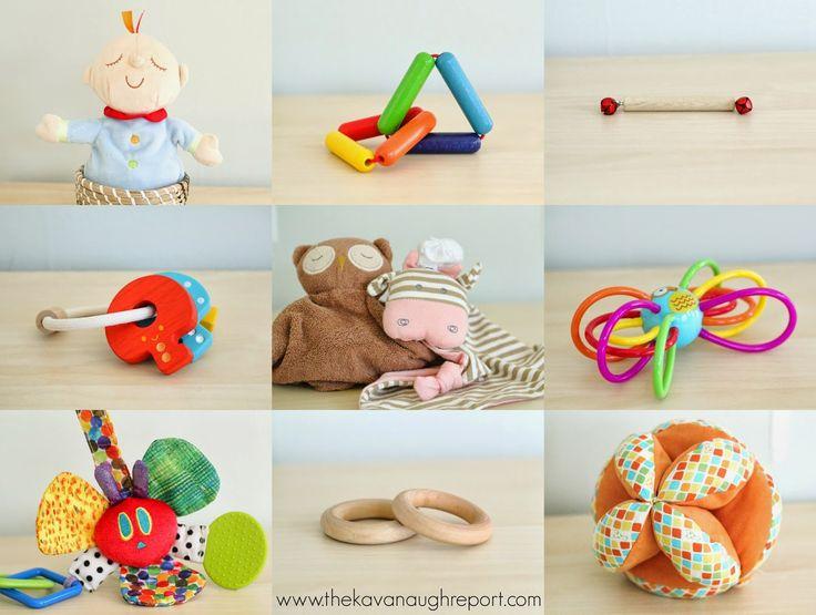 Montessori Baby -- Montessori Toys at 4 Months.