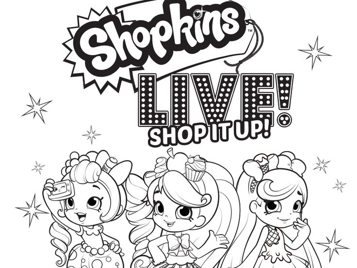 Image Result For Shopkins Coloring Pages To Print Free
