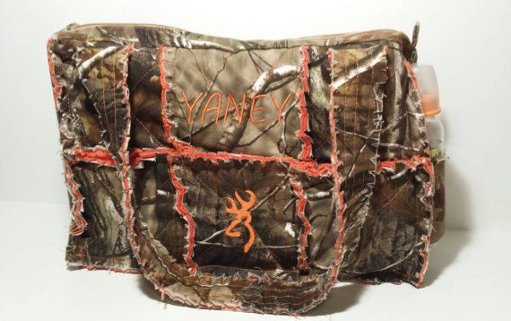 Check out this item in my Etsy shop https://www.etsy.com/listing/234220452/realtree-camo-diaper-bag-large-camo-rag