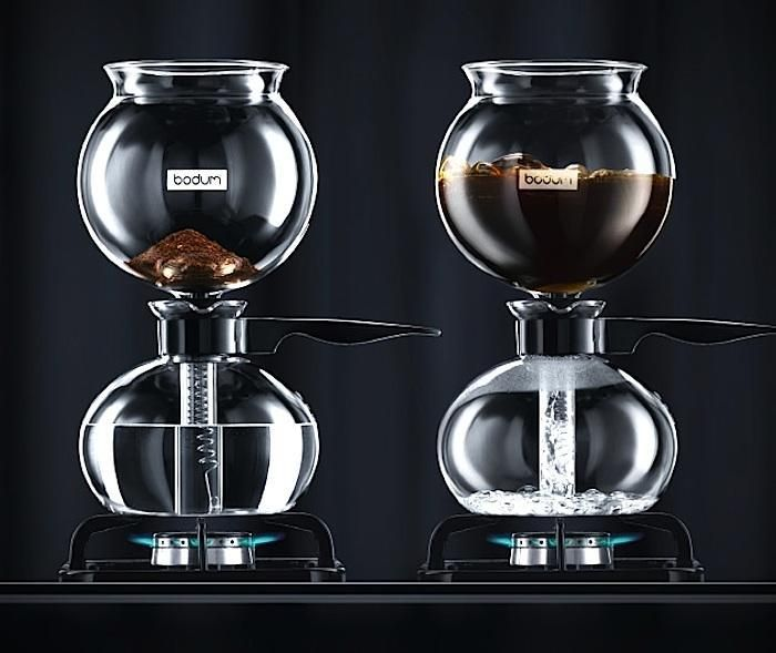 5 Favorites: Siphon Coffee Brewers for the Cogniscenti by Janet Hall