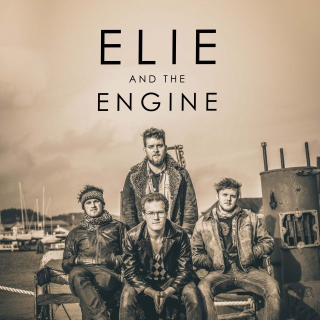 Elie & The Engine. Rock band from Sweden.