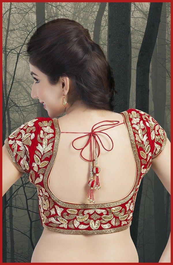 Women'S Blouse Neck Designs