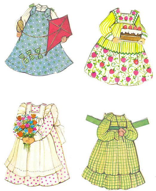the ginghams paper dolls | Flickr - Photo Sharing!