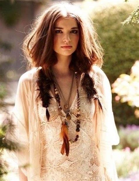 60 Cute Boho Hairstyles For Brief Lengthy Medium Size Hair