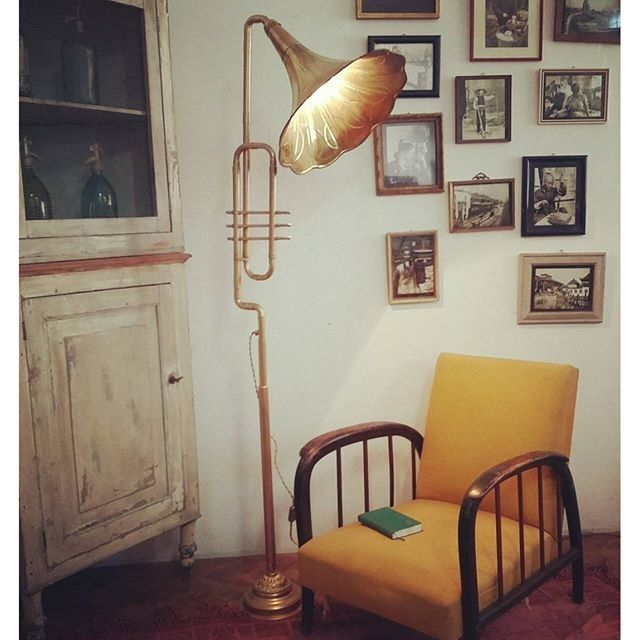 Lampada grammofono