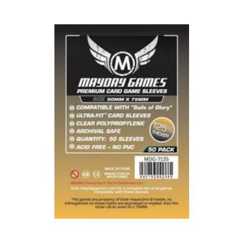 Mayday Games Premium Card Sleeves 50x75mm (50 Pack)