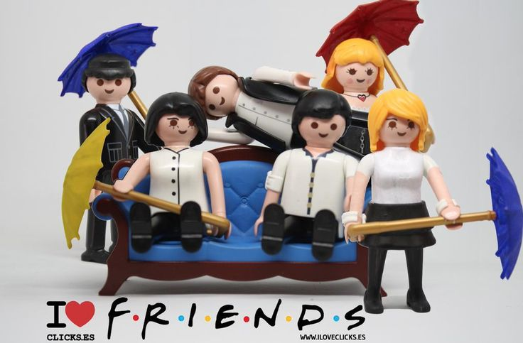 Friends #Playmobil                                                                                                                                                                                 Más
