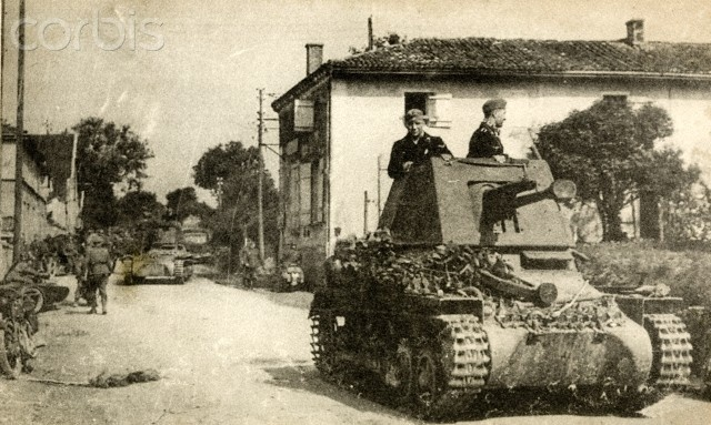 The Panzerjäger I (TankHunter 1), a Skoda 4.7 cm anti-tank gun monted on a converted Panzer I chassis. 200 of these conversions were produced in 1940/1 in order to take on heavy French tanks in France and North Africa as well as on the Eastern Front.