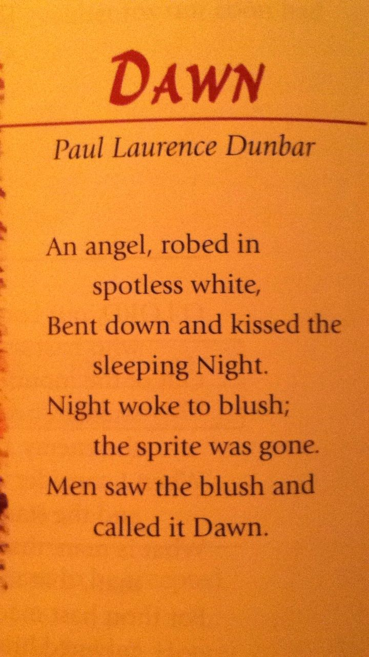 the desire for freedom in sympathy a poem by paul laurence dunbar I know why the caged bird sings is a line in a poem called sympathy by paul  laurence dunbar this poem had a great impact and influence on maya.