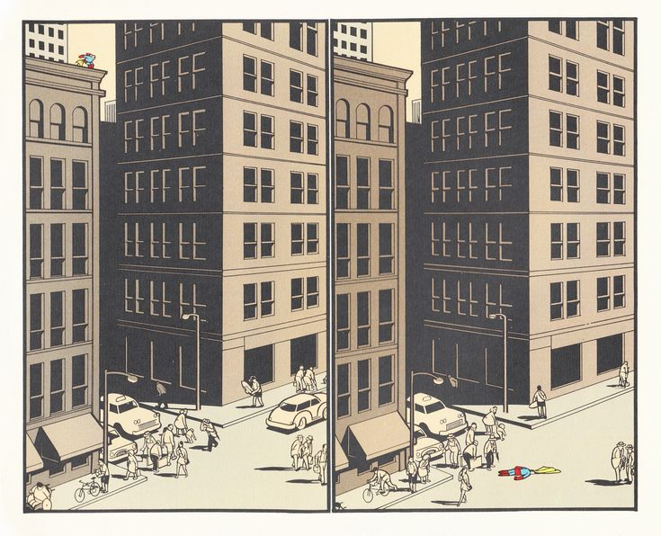 Ahh, disappointing heroes.  Chris Ware does the comically tragic so masterfully.