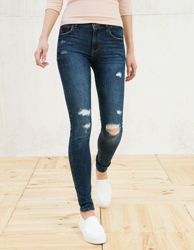 Jeans - REBAJAS - MUJER - Bershka Colombia