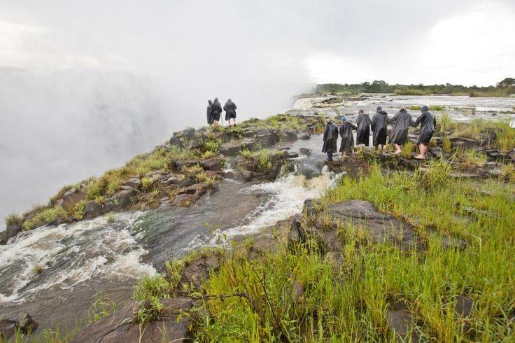 Victoria Falls viewpoint