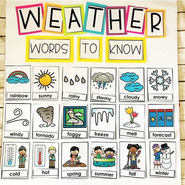 Weather Activities For Kids Teaching Special Thinkers In 2020 Weather Activities Preschool Preschool Weather Weather Activities For Kids Preschool lesson plan ideas for weather