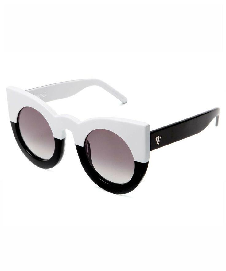 Valley Eyewear   Wolves (White to Black)
