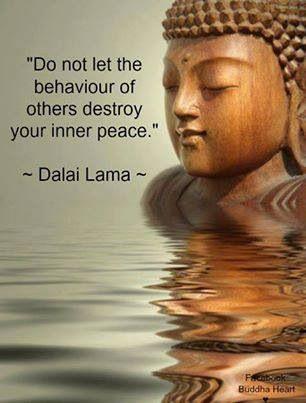 No dejes que el comportamiento de otros destruya tu paz interior