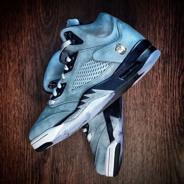 "Air Jordan V ""Hoyas Custom"""