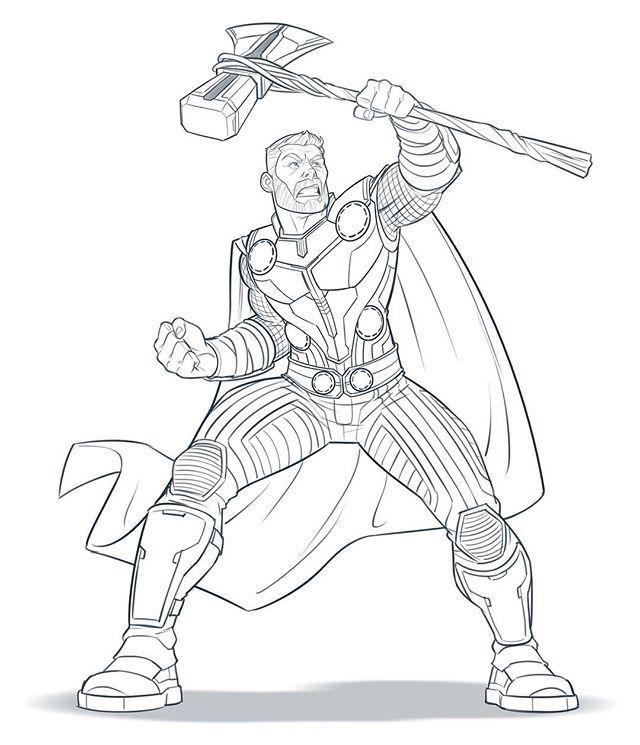 La Imagen Puede Contener Dibujo Avengers Para Colorear Superheroes Dibujos Dibujos Marvel