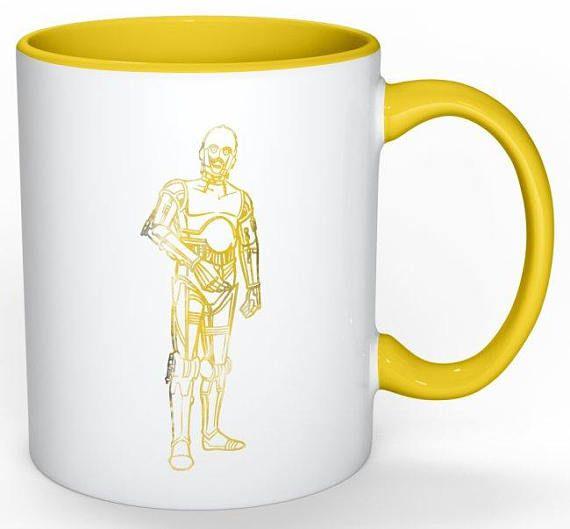 C-3PO Star Wars Coffee Mug