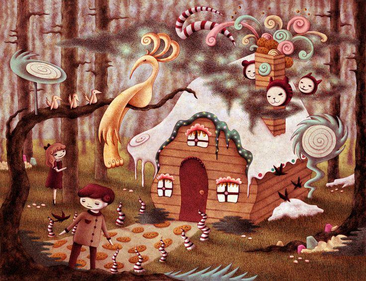Hansel and Gretel by o0Amphigory0o on DeviantArt