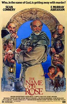 The Name of The Rose / directed by Jean-Jacques Annaud. Original film poster by Drew Struzan.