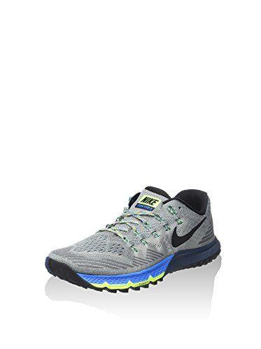 Nike Mens Air Zoom Terra Kiger 3 Shoes 10.5 Shark/Squadron Blu.