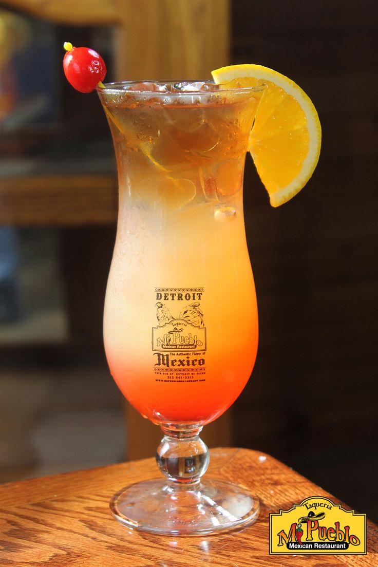 Hurricane - Bardi, Myers's Rum, Grenadine, Lime Juice, and Sour Mix. #mipueblodetroit #detroit #drinks #mexicantown #southwestdetroit #mexicanfood