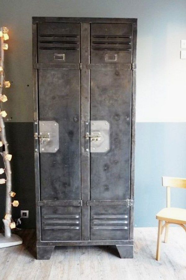 12 Easy Industrial Vintage Decor Designs For A Brick Steel Living Space Vintage Industrial Design No 11 Decoration Recup Mobilier De Salon Style Industriel